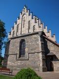"""Chiesa nello skie del """"di KoÅ, Polonia Fotografia Stock"""