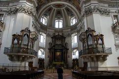 Chiesa nello stile barrocco fotografia stock