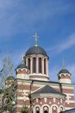 Chiesa nello stile di Byzanthhine a Mosca Fotografie Stock