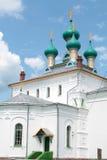 Chiesa nello stile russo di architettura di rinascita Fotografie Stock