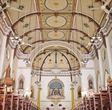 Chiesa neogotica cristiana Fotografia Stock Libera da Diritti