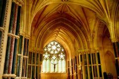 Chiesa neogotica, Kylemore, Irlanda Fotografia Stock