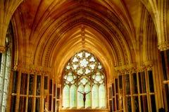 Chiesa neogotica, Kylemore, Irlanda Fotografie Stock