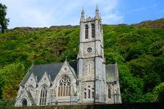 Chiesa neogotica, Kylemore, Irlanda Immagine Stock Libera da Diritti