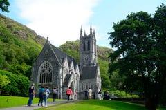 Chiesa neogotica, Kylemore, Irlanda Fotografia Stock Libera da Diritti