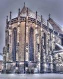 Chiesa nera Fotografie Stock