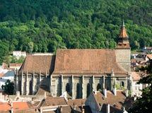 Chiesa nera (Brasov) Romania fotografie stock libere da diritti