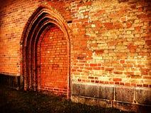 Chiesa - nessun'entrata Immagine Stock