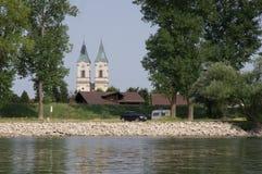 Chiesa in Niederalteich Immagini Stock Libere da Diritti