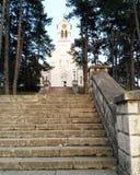 Chiesa in Niksic Fotografia Stock Libera da Diritti