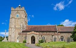 Chiesa normanna antica Immagine Stock