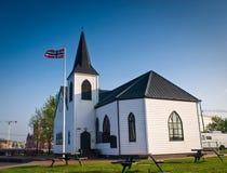 Chiesa norvegese, Cardiff Fotografia Stock Libera da Diritti