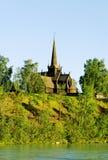 Chiesa in Norvegia. Fotografia Stock Libera da Diritti
