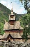 Chiesa in Norvegia Fotografia Stock