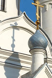 Chiesa a Novosibirsk Fotografie Stock