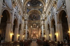 Chiesa Nuova, Rome Royalty Free Stock Photography