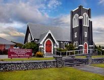 Chiesa, Nuova Zelanda Immagine Stock