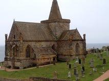 Chiesa o Kirk di Monans del san fotografie stock