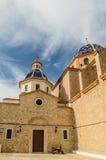 Chiesa obbligazione del di Nuestra Señora del Consuelo o di La Mare de Déu (la nostra signora del conforto) Immagini Stock
