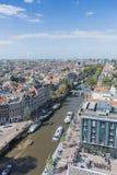 Chiesa occidentale a Amsterdam, Paesi Bassi fotografie stock libere da diritti