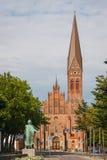 Chiesa a Odense Immagine Stock Libera da Diritti