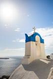Chiesa a Oia, Santorini immagine stock