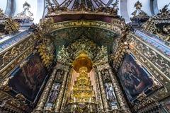 Chiesa a Oporto Immagini Stock Libere da Diritti