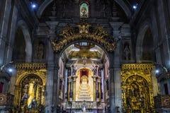 Chiesa a Oporto Fotografie Stock