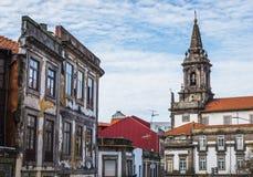 Chiesa a Oporto Fotografia Stock