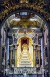 Chiesa a Oporto Fotografie Stock Libere da Diritti