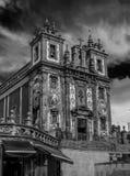 Chiesa a Oporto, Portogallo Immagine Stock
