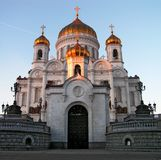 Chiesa ortodossa. Immagini Stock