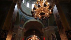 Chiesa ortodossa video d archivio