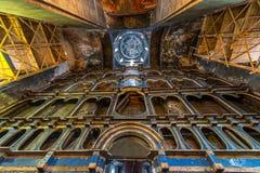Chiesa ortodossa abbandonata Fotografia Stock Libera da Diritti