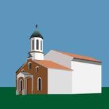 Chiesa ortodossa armena, Varna, Bulgaria illustrazione vettoriale