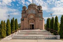 Chiesa ortodossa a Belgrado Fotografia Stock