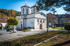 Chiesa ortodossa a Belgrado Immagine Stock Libera da Diritti