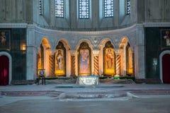 Chiesa ortodossa a Belgrado Fotografia Stock Libera da Diritti