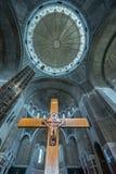 Chiesa ortodossa a Belgrado Immagini Stock Libere da Diritti
