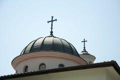 Chiesa ortodossa bianca Immagine Stock