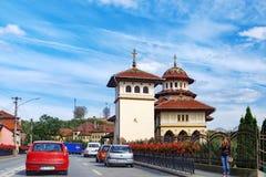Chiesa ortodossa in Blaj, la Transilvania, Romania Immagini Stock Libere da Diritti