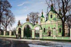 Chiesa ortodossa a Brest immagine stock libera da diritti