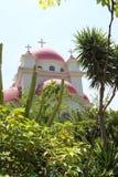 Chiesa ortodossa a Capernaum Immagine Stock Libera da Diritti