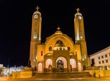 Chiesa ortodossa copta in Sharm el-Sheikh fotografie stock libere da diritti