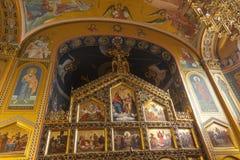Chiesa ortodossa cristiana Fotografie Stock Libere da Diritti