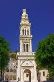Chiesa ortodossa del campanile Fotografie Stock