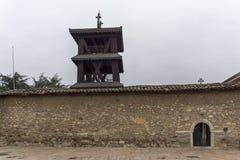 Chiesa ortodossa dell'ascensione di Gesù a Skopje, Repubblica Macedone immagini stock libere da diritti