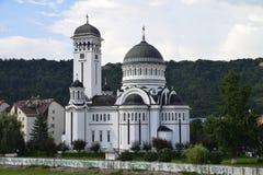 Chiesa ortodossa della trinità santa, Sighisoara immagini stock