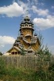 Chiesa ortodossa di legno Immagine Stock Libera da Diritti