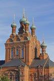 Chiesa ortodossa di Tampere Fotografia Stock Libera da Diritti